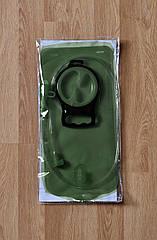 Гидратор / питьевая система / питьевой резервуар с закручивающимся люком (2 л / 2,5 л / 3 л) ТЁМНО-ЗЕЛЁНЫЙ, 2 л
