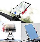 """Кріплення на кермо тримач 2-В-1 для телефону і екшн камери GoPro / ліхтаря GUB G-99 АЛЮ 59-100 мм / ~ 4.7-7"""", фото 3"""