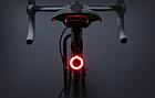 """Підсідельна вело мигалка / габарит у вигляді фігур (одно-/дво-кольорові) USB зарядка / COB діоди ТМ """"JAKROO"""", фото 2"""