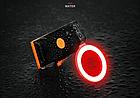 """Підсідельна вело мигалка / габарит у вигляді фігур (одно-/дво-кольорові) USB зарядка / COB діоди ТМ """"JAKROO"""", фото 6"""
