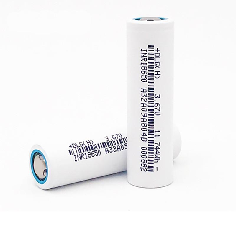 Литиевый аккумулятор 18650 DLG INR18650-300 3000 мАч 6А без защиты
