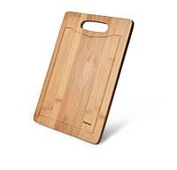 Разделочная доска Fissman бамбук 38x27x1,4 см 8771