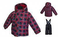 Зимний комплектдля мальчика Gusti  SWB 4858 TRUE RED. Размер 92-128., фото 1