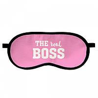 Маска для сна Real boss
