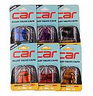 Колпачки на ниппель алюминиевые ЧПУ Шредер (Schrader) вело / авто / мото, комплект (4 шт), фото 2