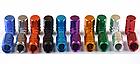 Колпачки на ниппель алюминиевые ЧПУ Шредер (Schrader) вело / авто / мото, комплект (4 шт), фото 3