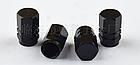 Колпачки на ниппель алюминиевые ЧПУ Шредер (Schrader) вело / авто / мото, комплект (4 шт), фото 4