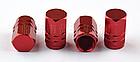 Колпачки на ниппель алюминиевые ЧПУ Шредер (Schrader) вело / авто / мото, комплект (4 шт), фото 5