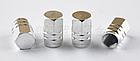 Колпачки на ниппель алюминиевые ЧПУ Шредер (Schrader) вело / авто / мото, комплект (4 шт), фото 7