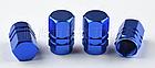 Колпачки на ниппель алюминиевые ЧПУ Шредер (Schrader) вело / авто / мото, комплект (4 шт), фото 8