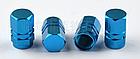 Колпачки на ниппель алюминиевые ЧПУ Шредер (Schrader) вело / авто / мото, комплект (4 шт), фото 9