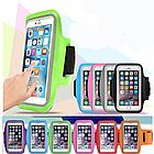 """Чехол на руку для телефона 4.3-4.9"""" / 4.9-5.5"""" неопрен, сенсорное окно, отражатели, для вело / бега / фитнеса, фото 2"""