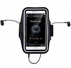 """Чехол на руку для телефона 4.3-4.9"""" / 4.9-5.5"""" неопрен, сенсорное окно, отражатели, для вело / бега / фитнеса, фото 3"""