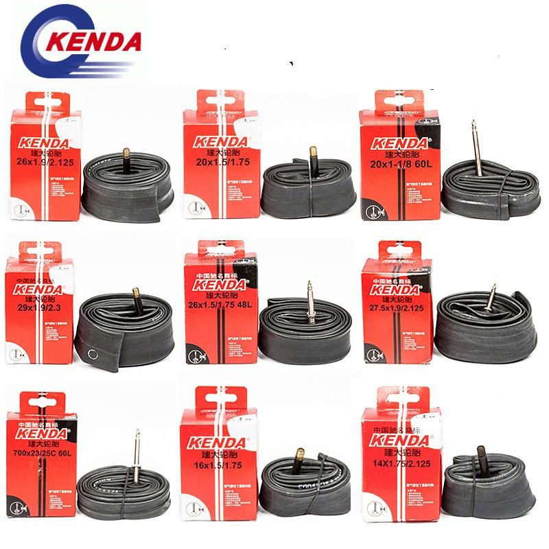 Вело-камера KENDA 27.5 x 1.9-2.125 A/V / Шредер / під автомобільний насос