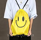 Универсальный спортивный / городской складной портативный (65 г) рюкзак-мешок / рюкзак-котомка / рюкзак-торба, фото 6