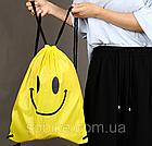 Универсальный спортивный / городской складной портативный (65 г) рюкзак-мешок / рюкзак-котомка / рюкзак-торба, фото 7