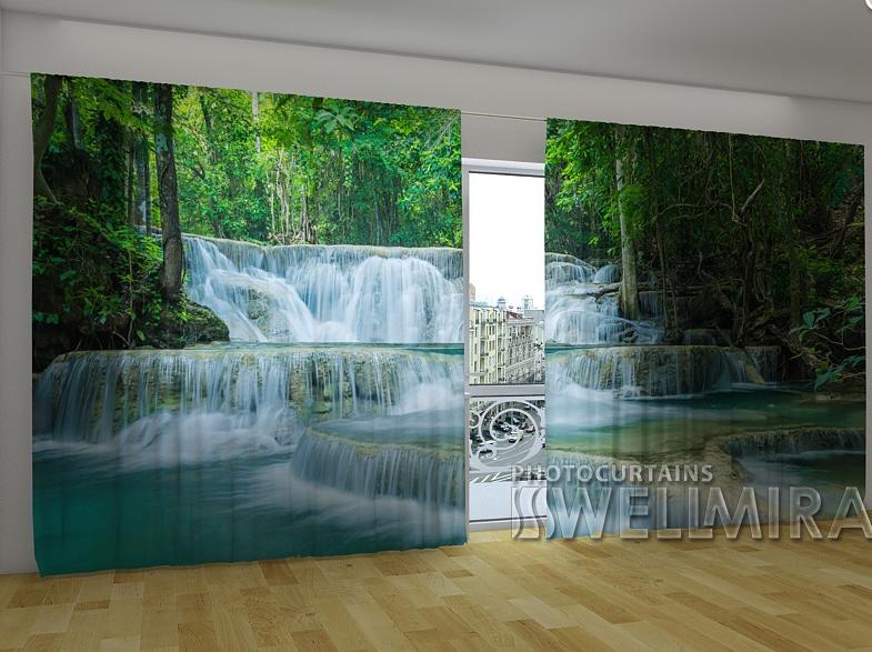 "Панорамні Фотошторы ""Краса Таїланду"" 270 х 500 см"