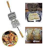 Форма для выпечки мягкого песочного печенья «Мишки»
