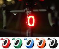 """Диодная """"полицейская"""" быстросъемная вело / велосипедная мигалка / габарит """"DEROACE"""" USB HJ-801 / IPX5"""