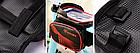 """Сумка на раму «штани» ТМ «ROBESBON» PU/PVC водоупорная з відділенням для телефону / сенсорної областю до 6.2"""", фото 5"""