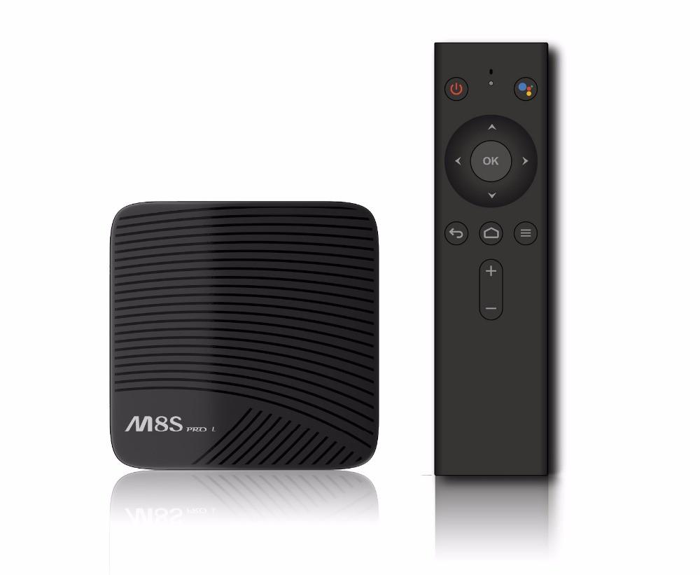 Smart TV приставка Mecool M8S Pro L 32Gb S912 (голосовое управление)