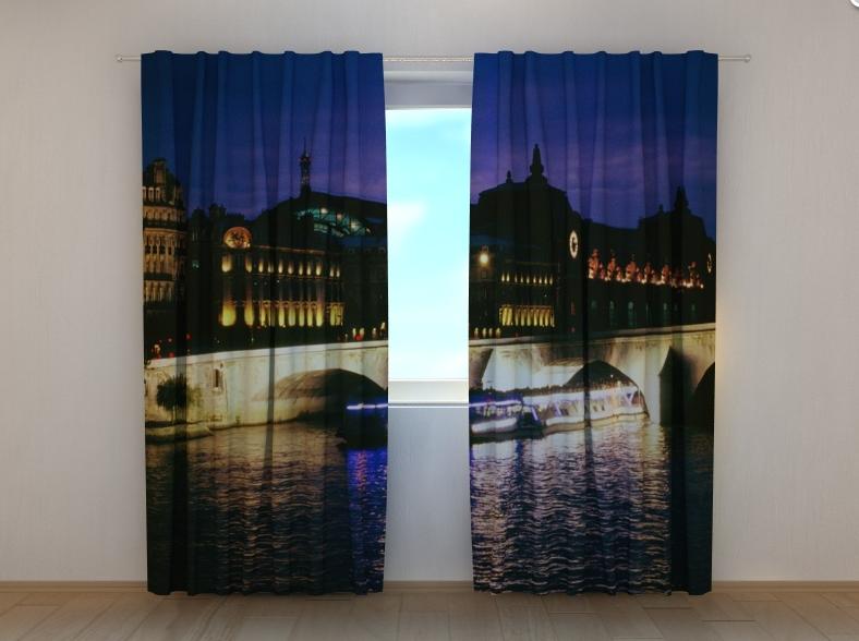 "Фото штори ""Мост в Венеции"" 250 х 260 см"