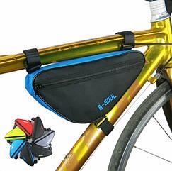 Велосумка підрамна ТМ «B-SOUL» YA191 треуголка / компактна / водоупорная / швидкий доступ (7 кольорів)