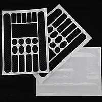 Наклейки / пленка ЗМ для защиты рамы и компонентов от перетирания (комплект из 20-ти наклеек) / 3 цвета