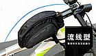 Сумка на раму ТМ «WOLFBASE» TQ-2605 PVC швидкознімна водоупорная з відкидними «штанами» + чохол від дощу, фото 4