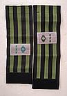 Стяжка эластичная широкая светоотражающая на ногу для защиты штанины /  штанов от попадания в цепь / звезду, фото 7