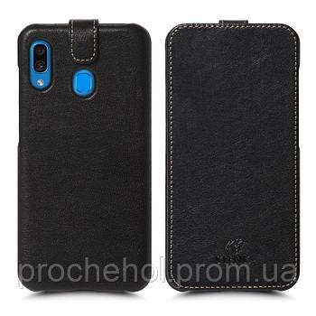 Чехол флип Stenk Premium для Samsung Galaxy A30 Чёрный