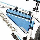 Велосумка подрамная «B-SOUL» YA250 длинная / вместительная / водоупорная / с внешним карманом быстрого доступа, фото 4