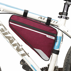 Велосумка підрамна «B-SOUL» YA250 довга / містка / водоупорная / із зовнішньою кишенею швидкого доступу БОРДОВИЙ