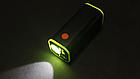 Набірної бокс / повербанк для вело-фар 4*18650 / гаряча заміна / контактний 4.2 V / USB 5 V, + ліхтарик, фото 3