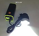 Набірної бокс / повербанк для вело-фар 4*18650 / гаряча заміна / контактний 4.2 V / USB 5 V, + ліхтарик, фото 4