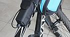 Набірної бокс / повербанк для вело-фар 4*18650 / гаряча заміна / контактний 4.2 V / USB 5 V, + ліхтарик, фото 10