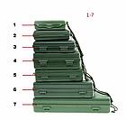 """Бокс / футляр / коробка / кейс для хранения """"E-SMARTER"""" водоупорный с поролоном внутри и темляком / шнурком, фото 2"""