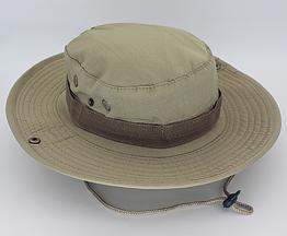 Полевая шляпа / панама широкополая для охоты / рыбалки / защита от солнца и насекомых ± сетчатая вентиляция СПЛОШНАЯ, ХАКИ