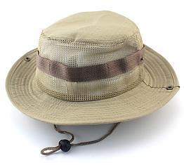Полевая шляпа / панама широкополая для охоты / рыбалки / защита от солнца и насекомых ± сетчатая вентиляция С СЕТЧАТОЙ ВЕНТИЛЯЦИЕЙ, ХАКИ