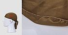 Бандана «North Flag» на завязках не эластичная воздухопроницаемая COOLMAX / защита затылка от солнца / ED, фото 8