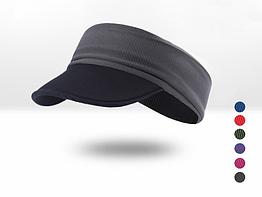 Пов'язка спортивна еластична двостороння / кепка / візор з м'яким козирком з неопрену «NorthFlag» E095-AB