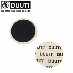 Заплатка «DUUTI» на камеру велосипеда самоклейка / с клеевым слоем круглая 25 мм
