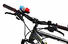 Сигнал на руль + мигалка полицейская 2-в-1 с выносным пультом на 4 кнопки (4 вида сигнала), фото 8