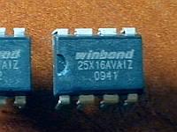 W25X16AVAIZ / 25X16AV / 25X16 DIP8 - 2Mb SPI Flash - BIOS, Ubiquiti