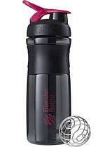 Бутылка-шейкер спортивная BlenderBottle SportMixer 820ml Black-Pink R144860