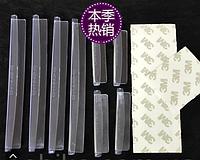 Накладки полимерные на кант дверей авто / автомобиля от сколов и ударов, защита лакокрасочного покрытия БЕЛЫЙ