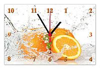 "Часы настенные стеклянные ""Апельсины"", фото 1"