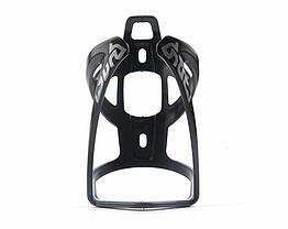 Флягодержатель велосипедный / крепление для фляги пластик / диаметр фляги до 80 мм / 50 г / 4 цвета ЧЁРНЫЙ