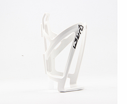 Флягодержатель велосипедный / крепление для фляги пластик / диаметр фляги до 80 мм / 50 г / 4 цвета БЕЛЫЙ