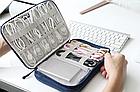 Органайзер / кейс / футляр «BUBM» для зберігання проводів, HDD та ін. гаджетів (4 розміру / 2 кольори), фото 2